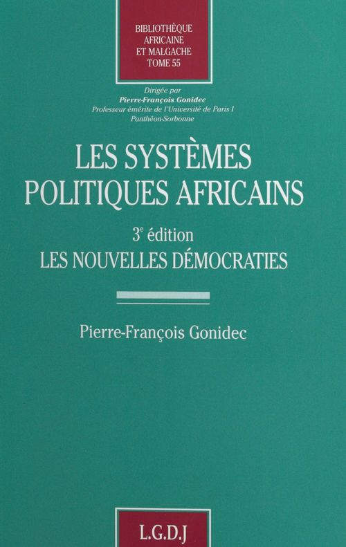 Les systèmes politiques africains : les nouvelles démocraties