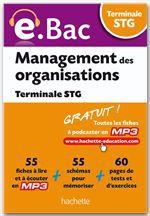 Jean-Bernard Ducrou E.Bac - Management des organisations Terminale STG