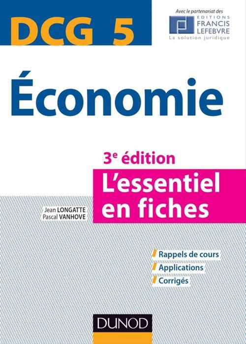 DCG 5 Economie