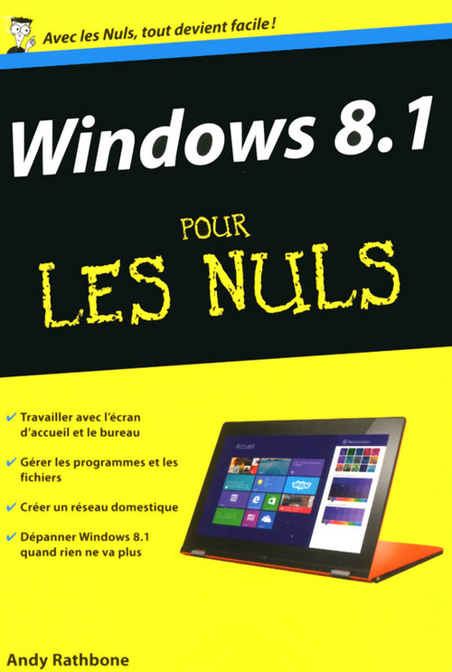 Andy RATHBONE Windows 8.1 Poche Pour les Nuls