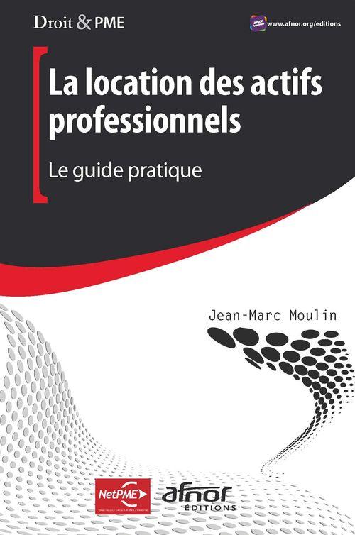 Jean-Marc Moulin La location des actifs professionnels - Le guide pratique