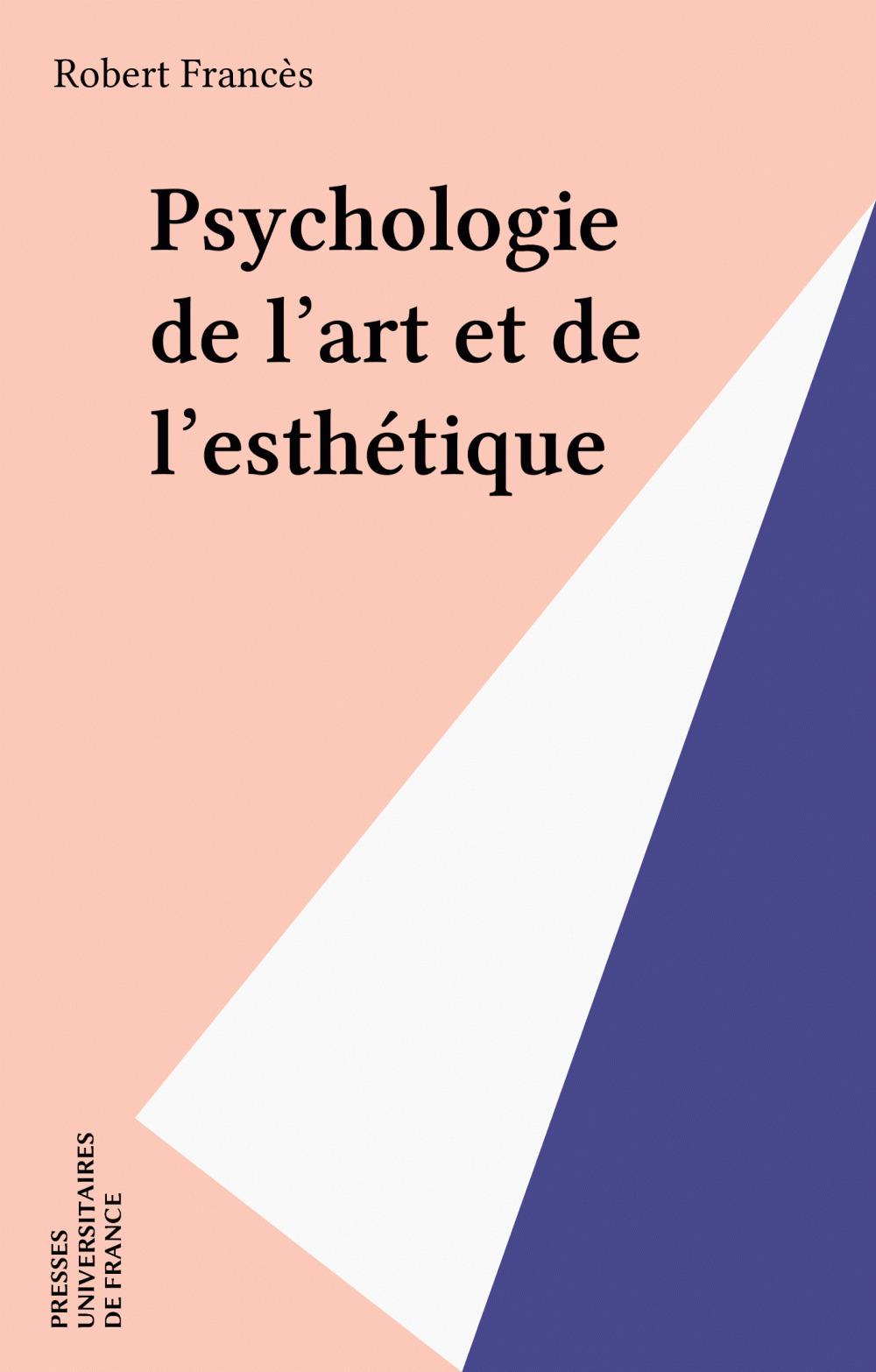Psychologie de l'art et de l'esthétique