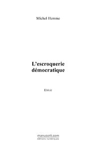 L'escroquerie démocratique