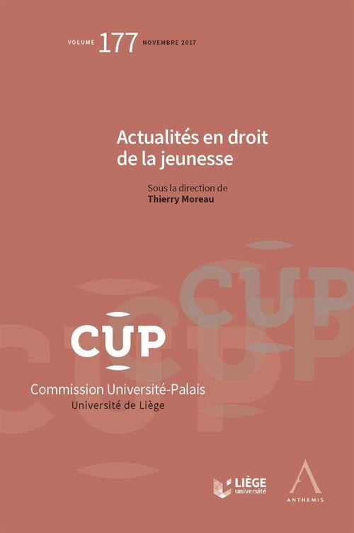 Thierry Moreau Actualités en droit de la jeunesse