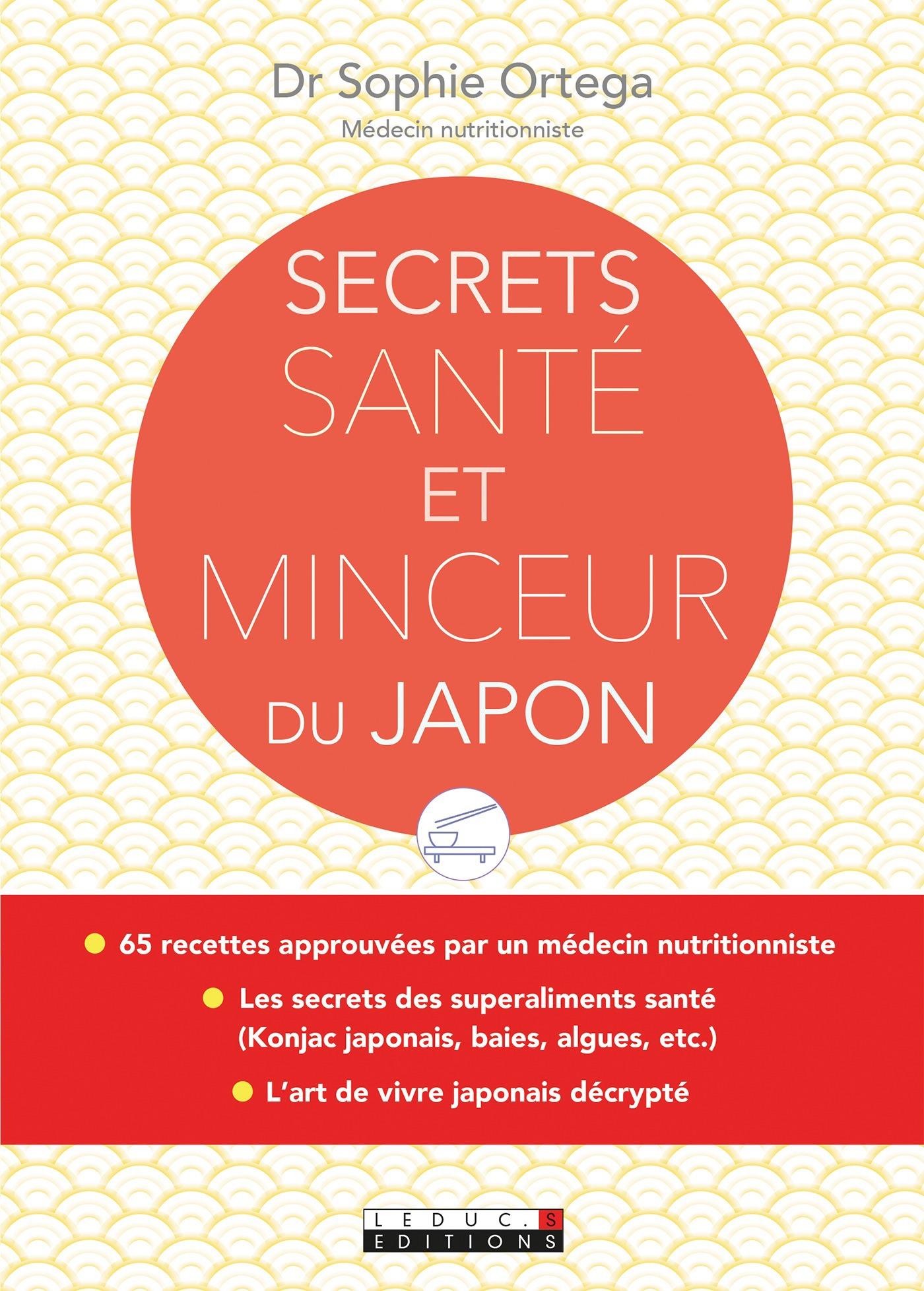 Sophie Ortega Secrets santé et minceur du Japon
