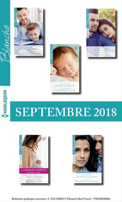 Collectif 10 romans Blanche + 1 gratuit (nº1386 à 1390 - Septembre 2018)