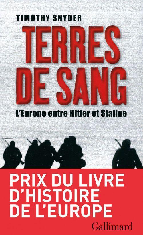 Terres de sang ; l'Europe entre Hitler et Staline