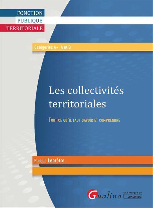 Pascal Leprêtre Les collectivités territoriales