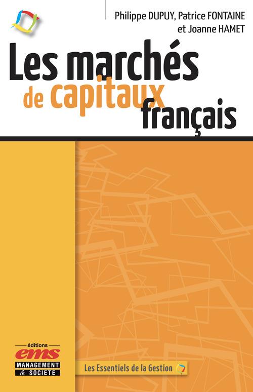 Patrice Fontaine Les marchés de capitaux français