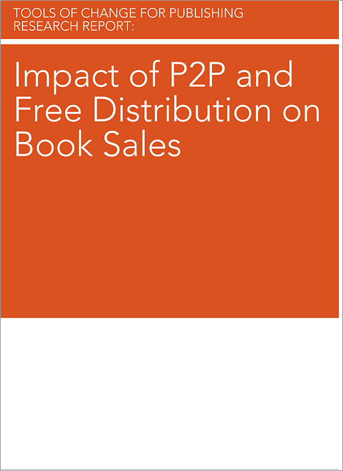 Brian O'Leary Impact of P2P and Free Distribution on Book Sales