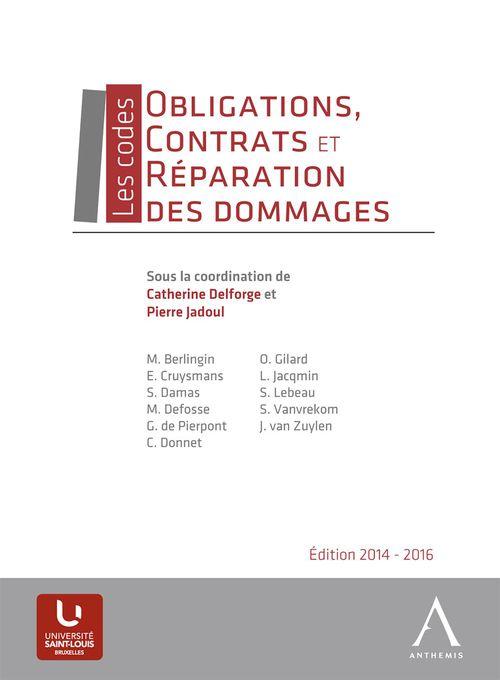 Collectif Obligations, contrats et réparation des dommages