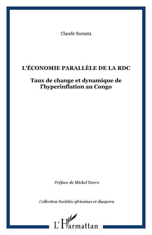 Claude Sumata L'ÉCONOMIE PARALLÈLE DE LA RDC