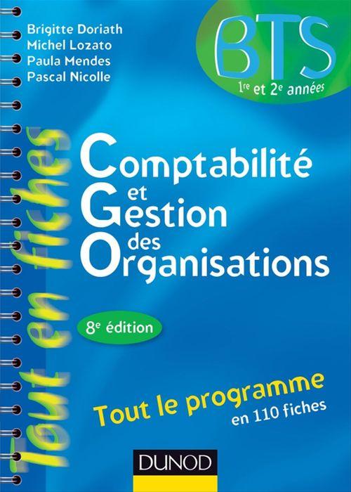 Comptabilité et gestion des organisations - 8e éd