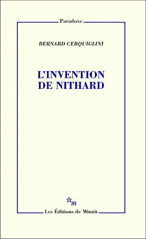 L'invention de Nithard
