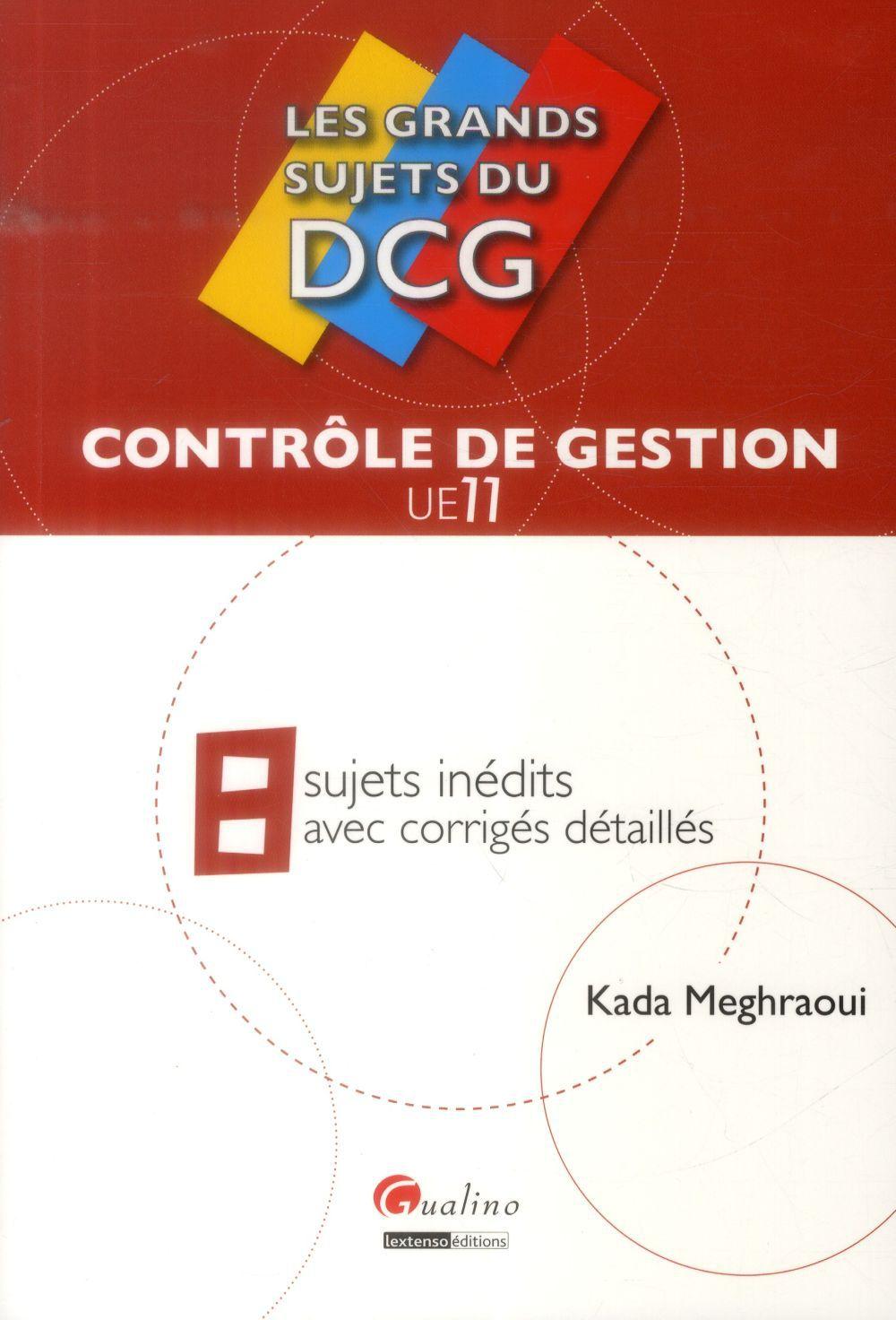 Kada Meghraoui Contrôle de gestion - UE 11