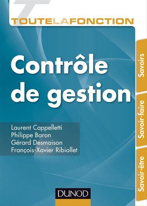 Laurent Cappelletti Toute la fonction Contrôle de gestion
