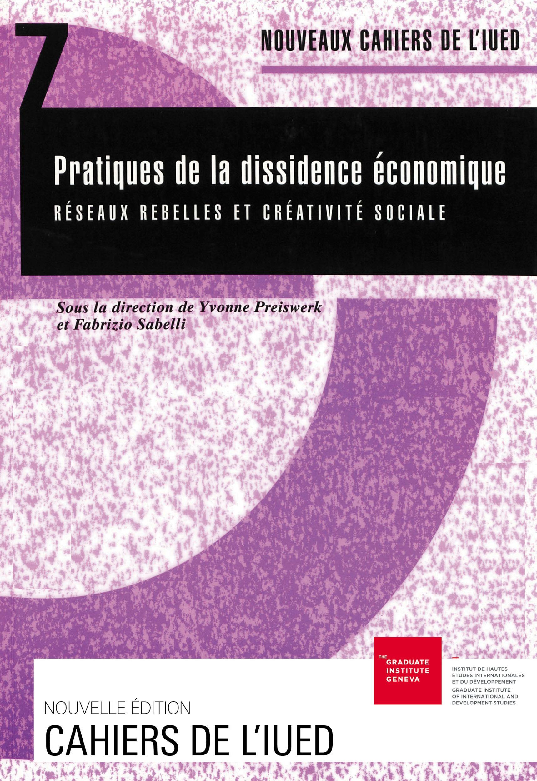 Fabrizio Sabelli Pratiques de la dissidence économique