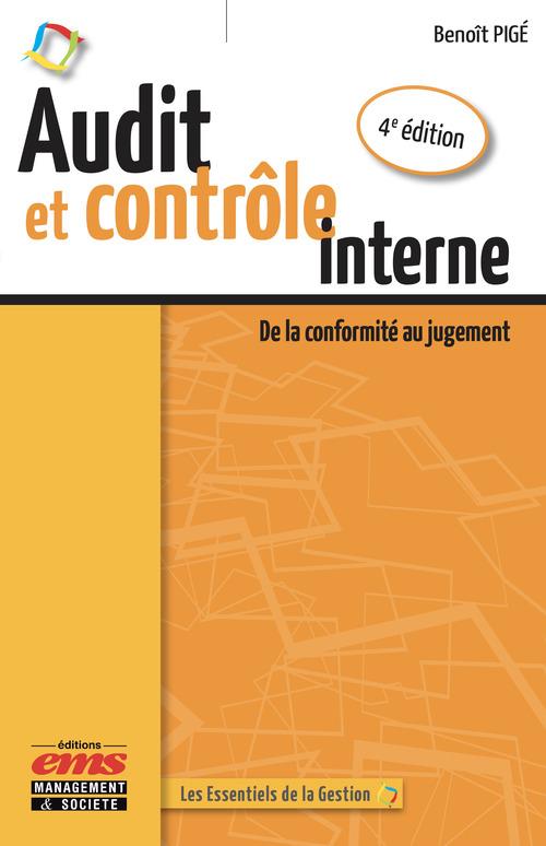 Benoît Pigé Audit et contrôle interne - 4e édition