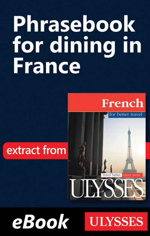 Collectif Phrasebook for dining in France