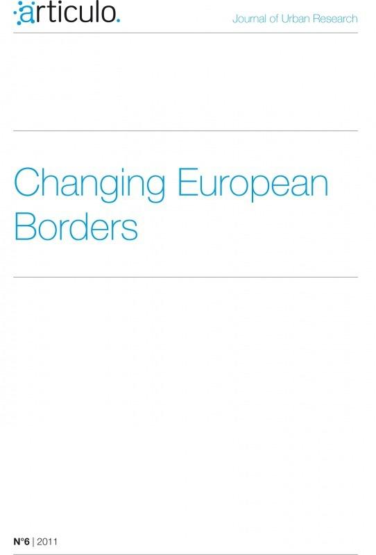 Articulo - Revue de sciences humaines asbl 6 | 2011 - Changing European Borders - Articulo