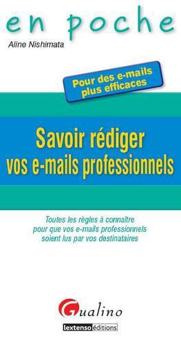 Aline Nishimata Savoir rédiger vos e-mails professionnels