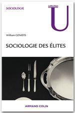 William Genieys Sociologie des élites