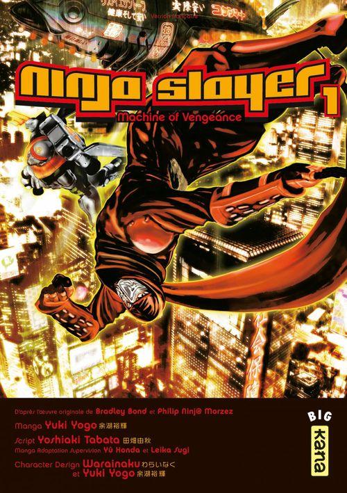 Yoshiaki Tabata Ninja slayer - Tome 1 - Ninja slayer T1