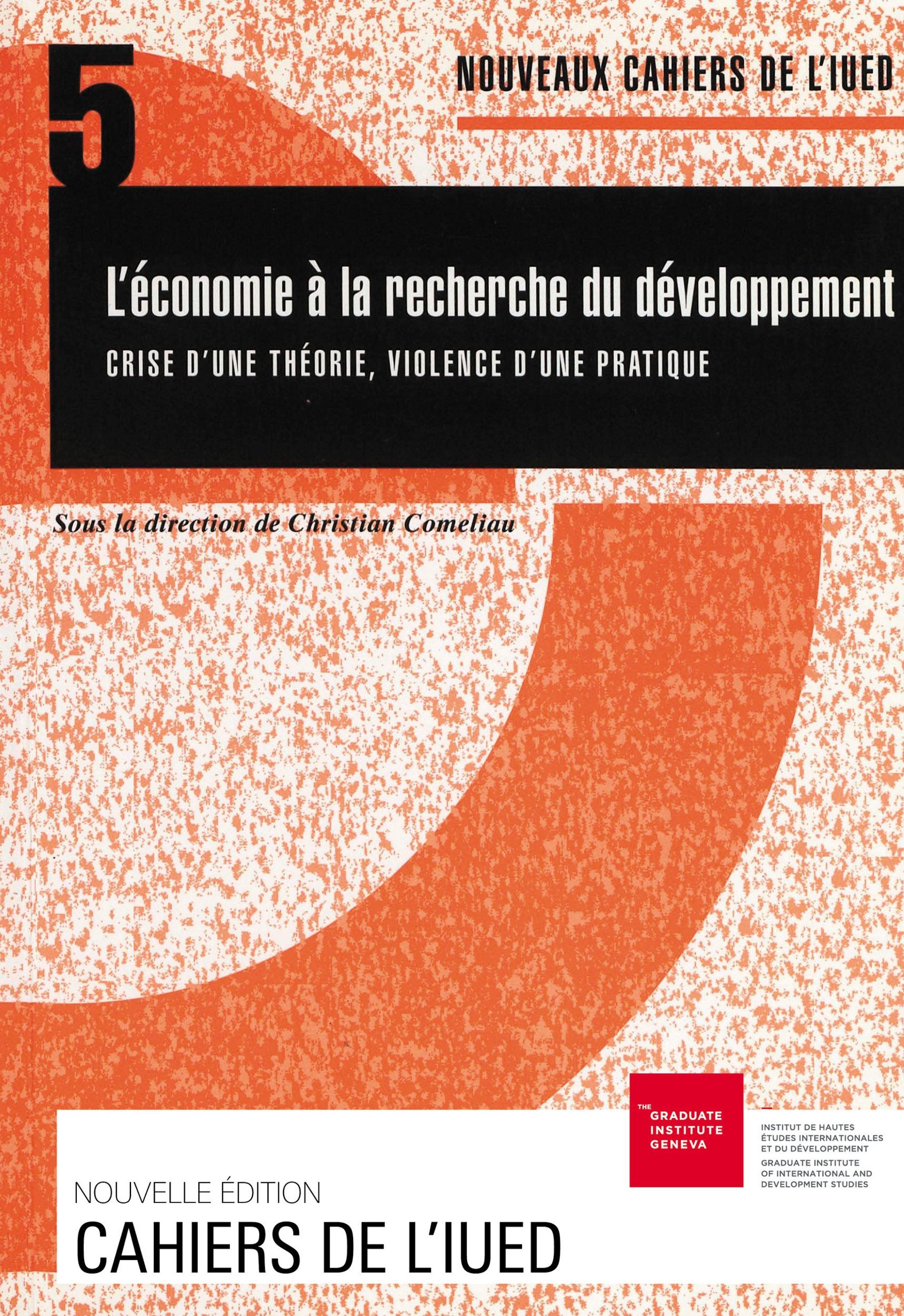 Christian Comeliau L´économie à la recherche du développement