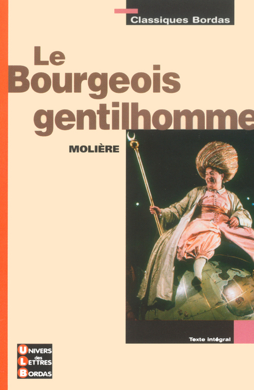 Molière Le bourgeois gentilhomme