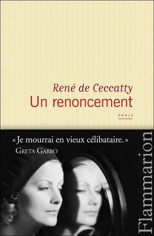 René De Ceccatty Un renoncement