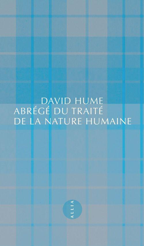 David HUME Abrégé du Traité de la nature humaine