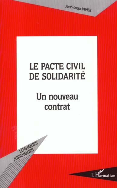 Jean-Loup Vivier LE PACTE CIVIL DE SOLIDARITÉ