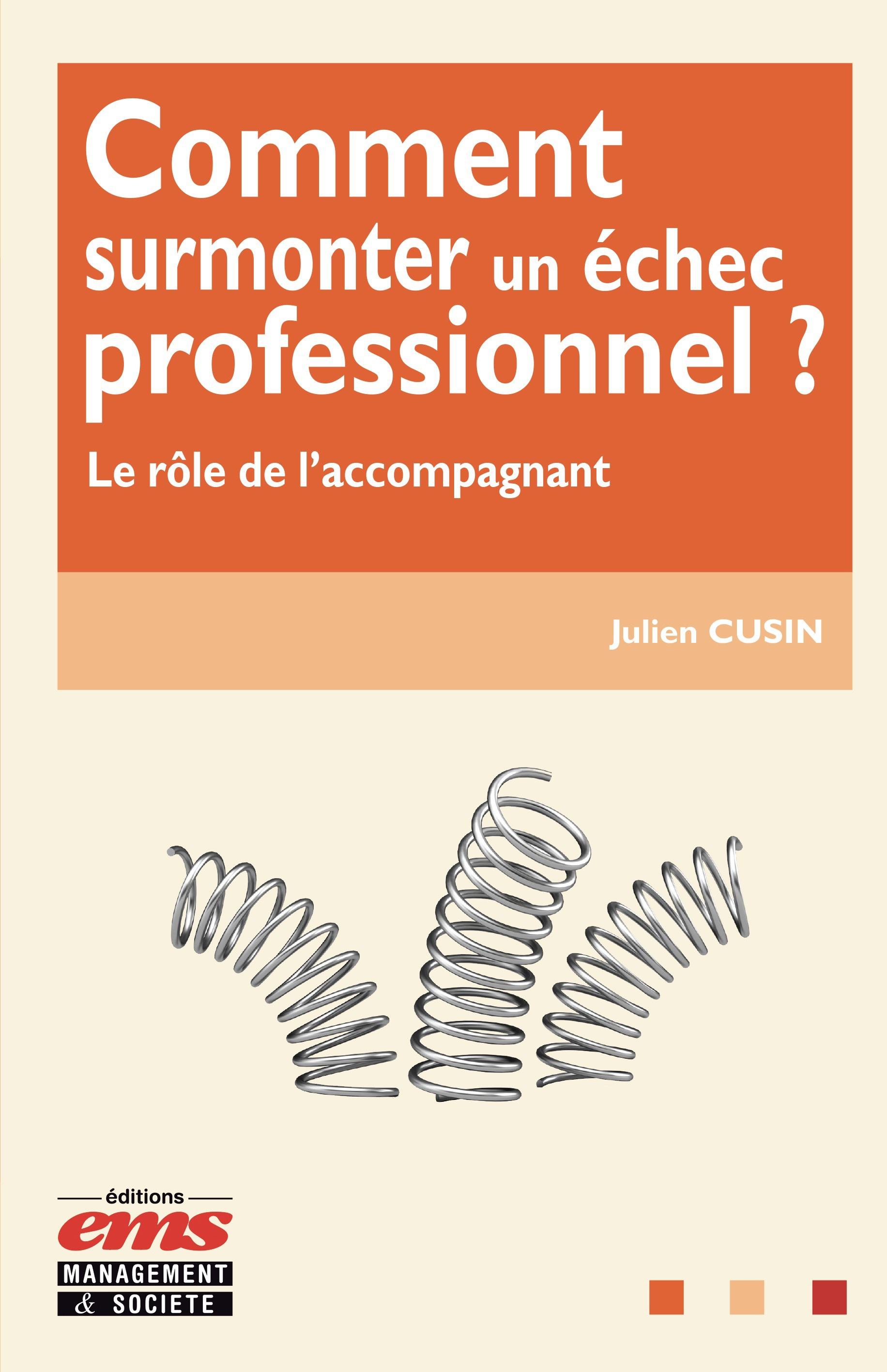 Cusin Julien Comment surmonter un échec professionnel ?