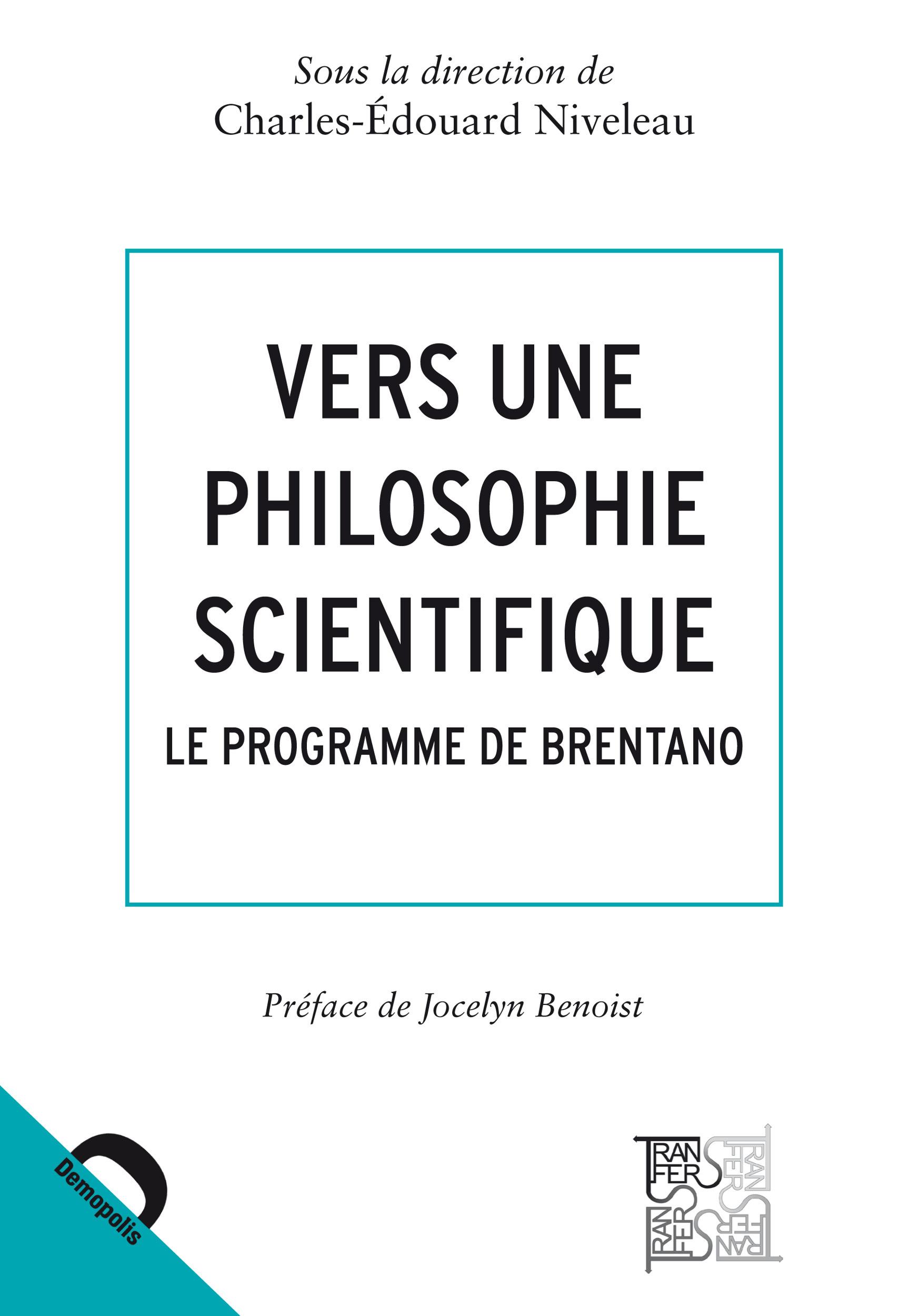 Vers une philosophie scientifique