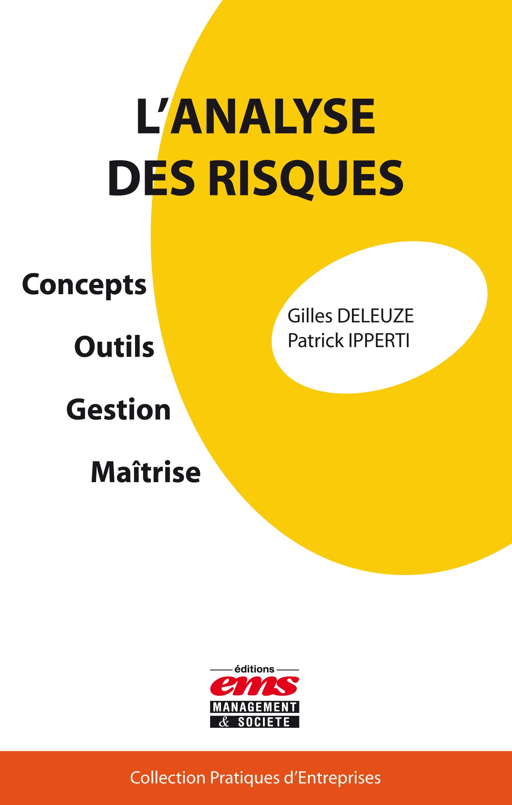 Gilles Deleuze L'analyse des risques