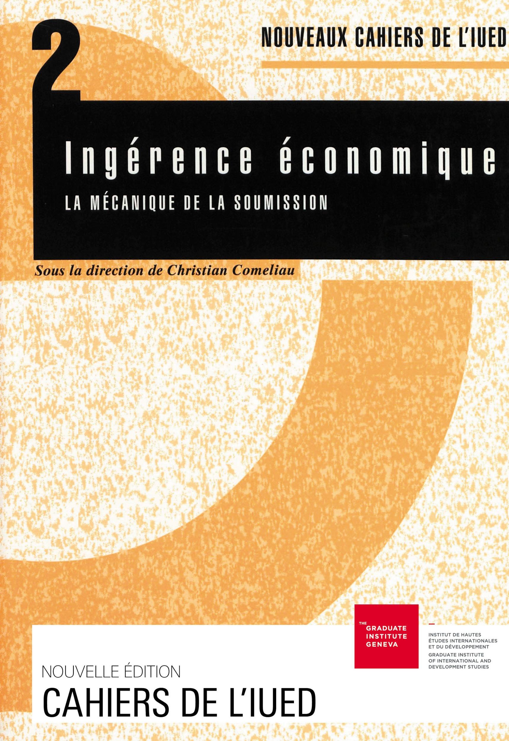Christian Comeliau Ingérence économique