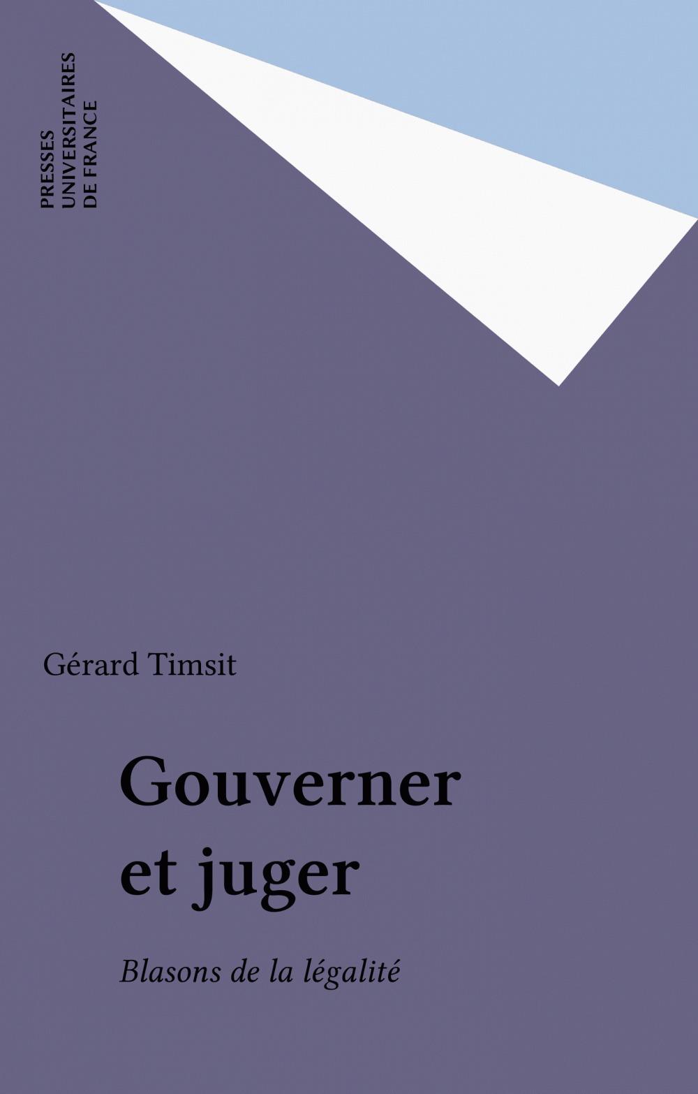 Gouverner et juger