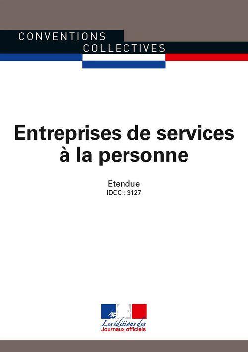 Journaux officiels Entreprises de services à la personne
