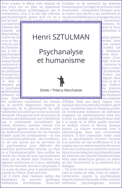 Psychanalyse et humanisme