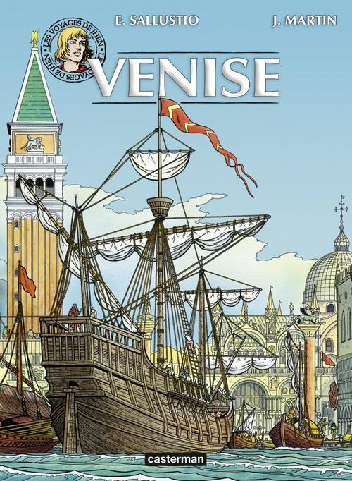 Jacques Martin Les voyages de Jhen - Venise