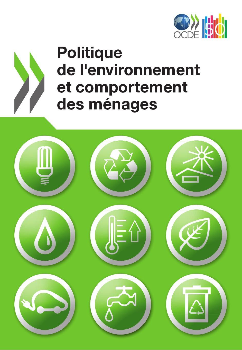 Collectif Politique de l'environnement et comportement des ménages