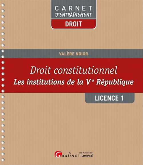 Droit constitutionnel - Licence 1 - S2