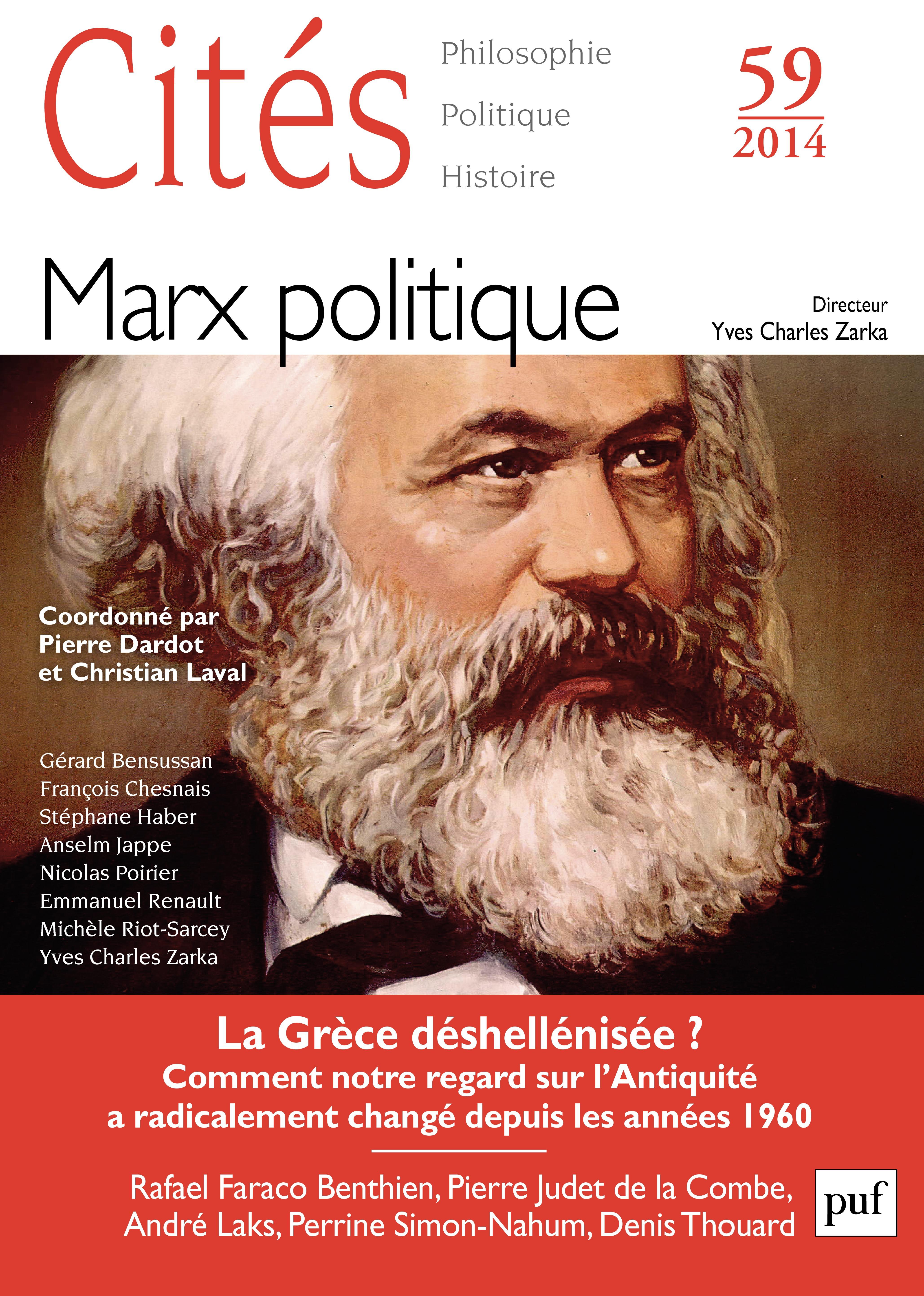 Revue Cités Cités 2014 - N° 59