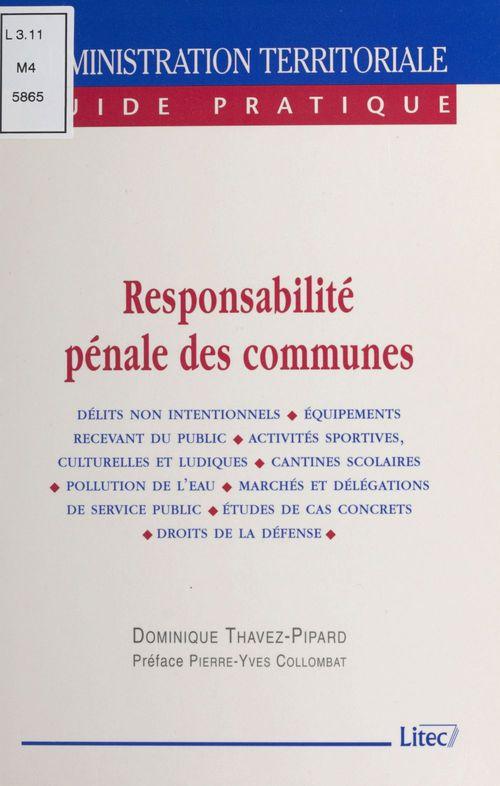Responsabilité pénale des communes