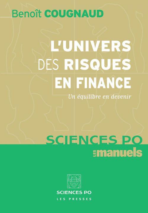 Benoit Cougnaud L'univers des risques en finance