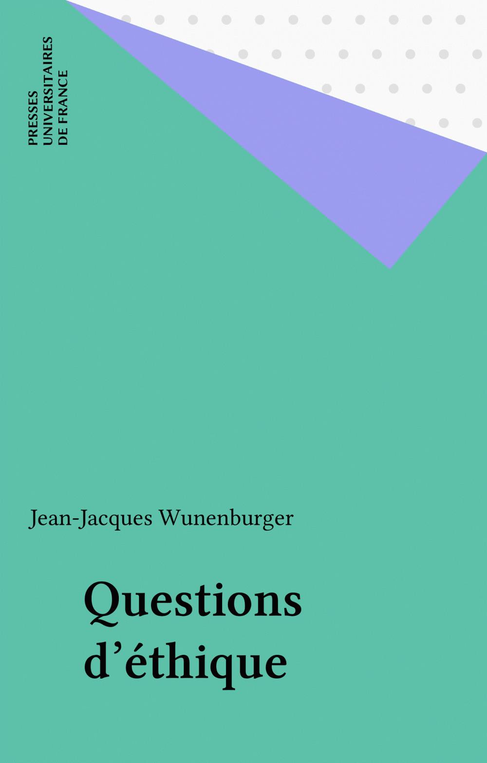Questions d'éthique