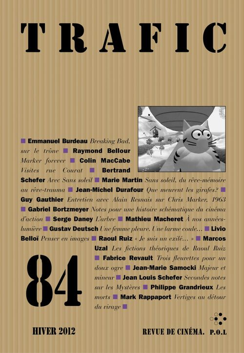 Trafic N° 84 (Hiver 2012)