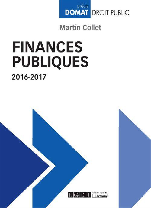 Martin Collet Finances publiques 2016-2017
