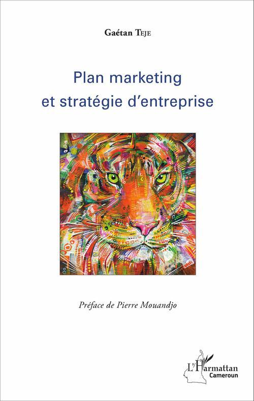 Gaétan Teje Plan marketing et stratégie d'entreprise