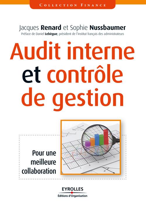 Jacques Renard Audit interne et contrôle de gestion